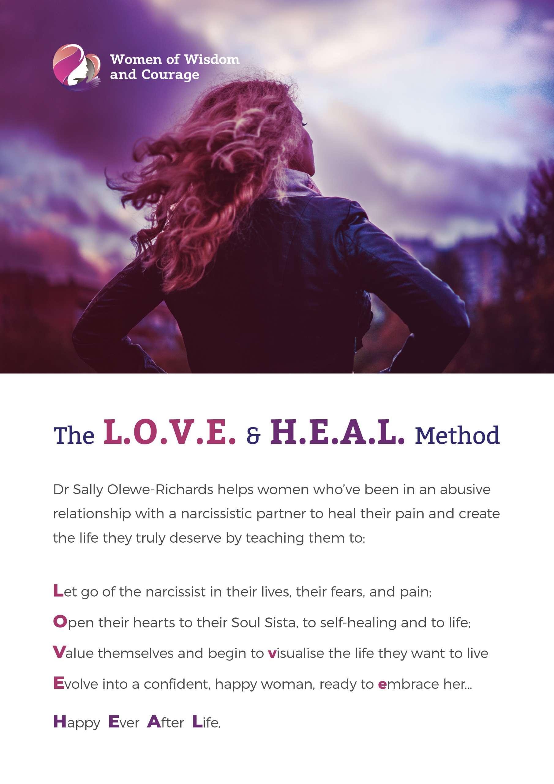 The L.O.V.E and H.E.A.L Method
